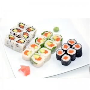 Menu maki sushi sashimi